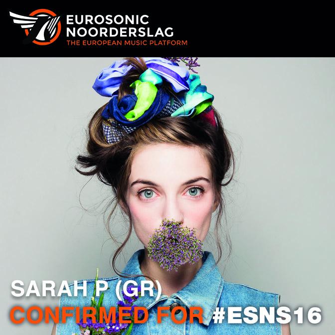 Sarah P. confirmed for ESNS16
