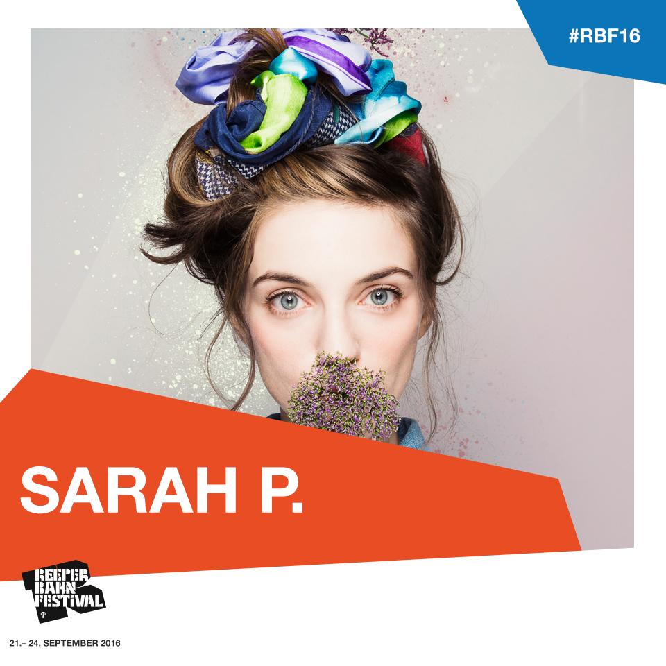 Sarah P. x Reeperbahn Festival 2016